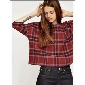 BDG Oversized Flannel Top